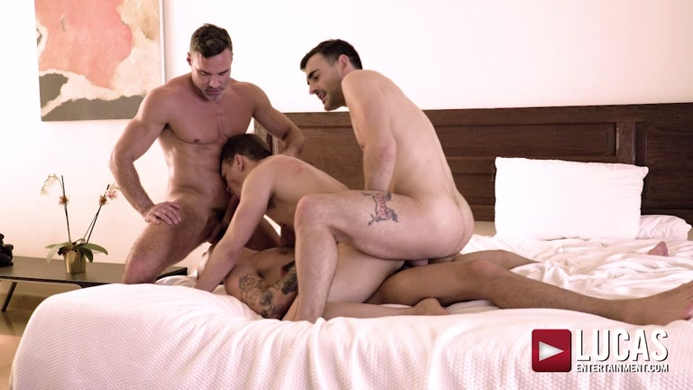 Back-to-Back Double Penetration with Ethan Chase