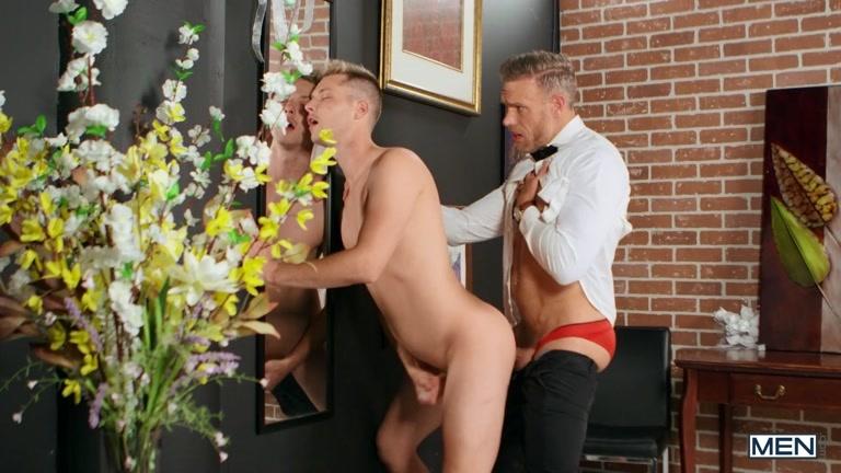 Handsome Groom Fucks Future Stepson on Wedding Altar