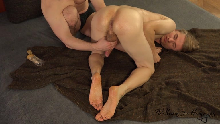 euro boy Laco Kotlar is due for a massage