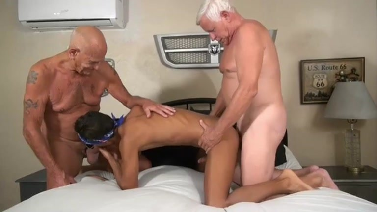 Hung Older Men Invite Younger Hotel Worker to Their Room
