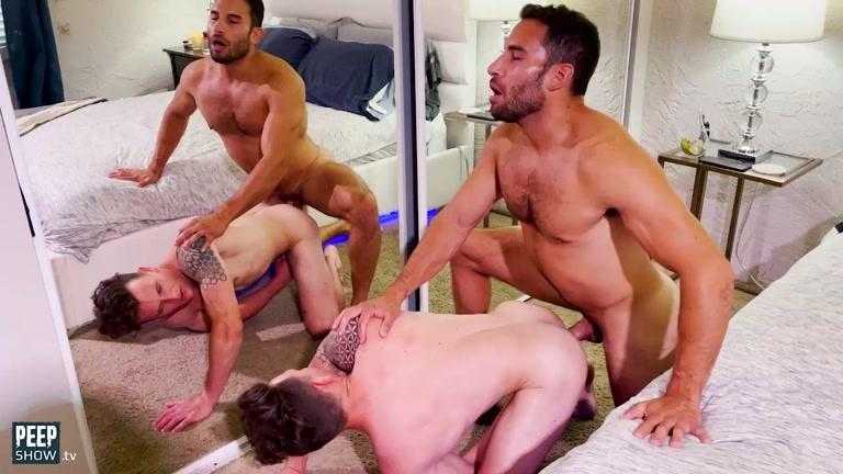 Ricky Decker Fucks Raw in Home Video