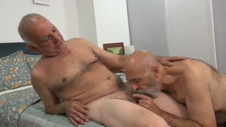 Bearded Man Fucks Grey Daddy Doggy Style