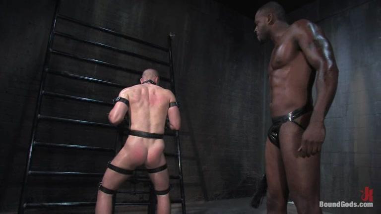Black slave & white master switch roles