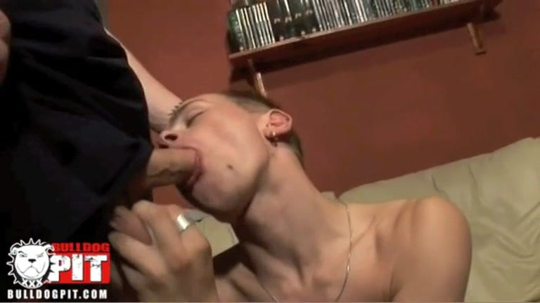 Bottoming for a hard pounding