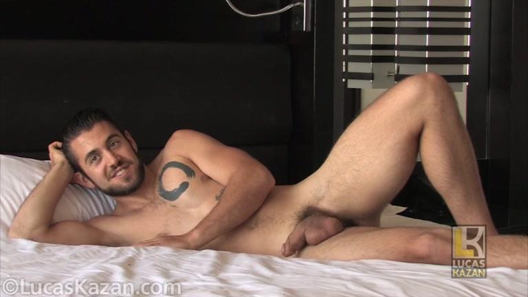 Dante Colle jacks his cock