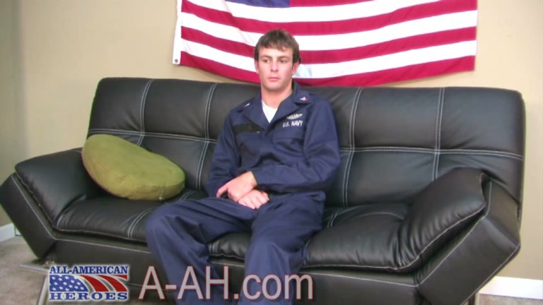 All sexed up Navy dude