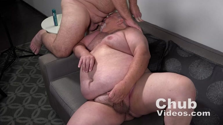 Older Chub in His Porn Audition