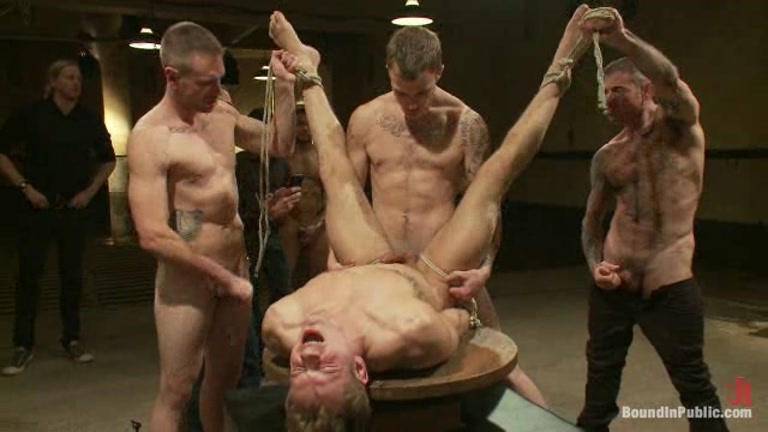 Fucked while bound and blindfolded