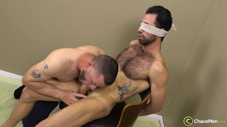bondage Edge play Marcos Gomez & Ransom