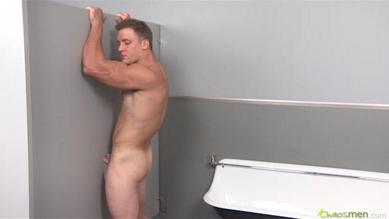 Sucking Muscle Cock at Glory Hole