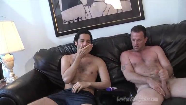 Straight Redneck & Puerto Rican Jack Off Together