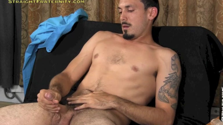 Hung Str8 Dude's JO Audition