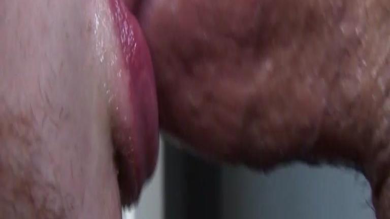 blue bailey eating cum