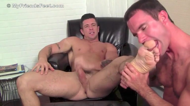 Muscle gay foot fetish billy santoro ticked