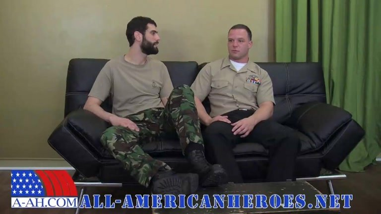 Antonio and Naval Corpsman Logan