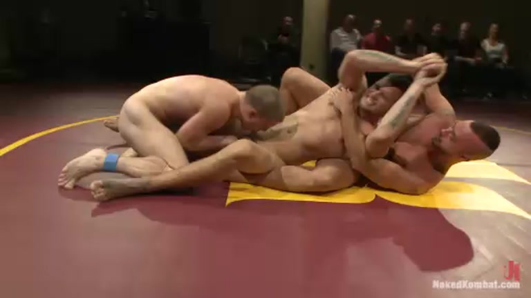 Gay underground wrestling