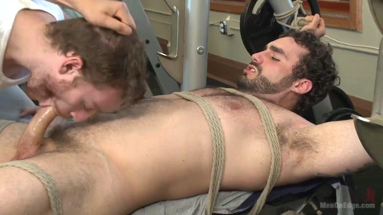 Straight men boobs licking hot gay sex