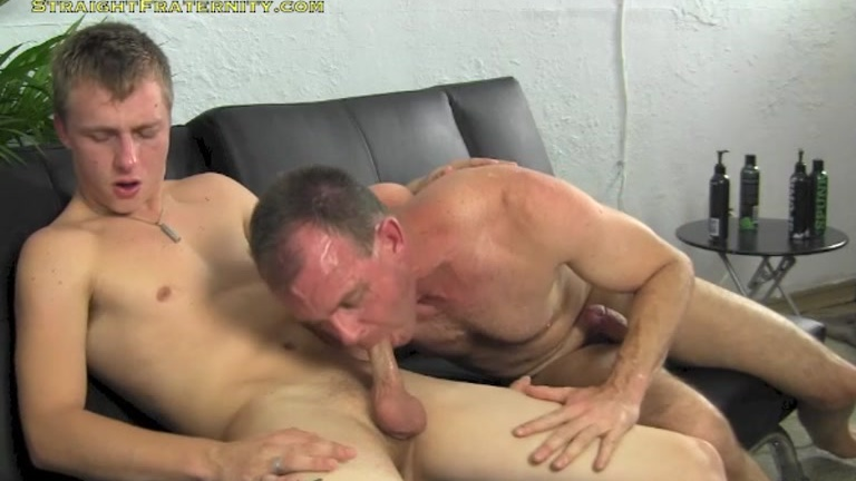 college professor plays with gay-for-pay stud