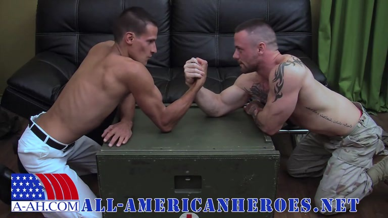 PETTY OFFICER EDDY FUCKS SERGEANT MILES at all-american heroes