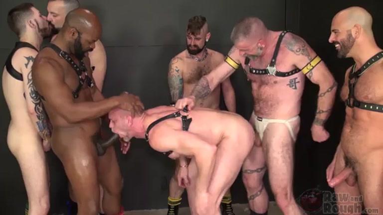 bottom named parker fucked raw by 6 men