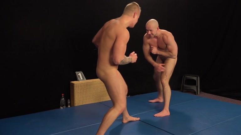 naked wrestling gay demon