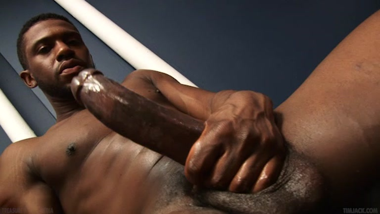 Loving black naked men masturbating What