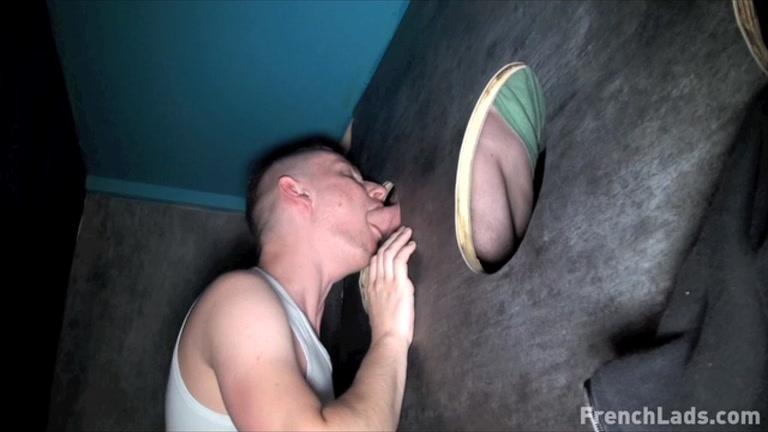French gay glory hole