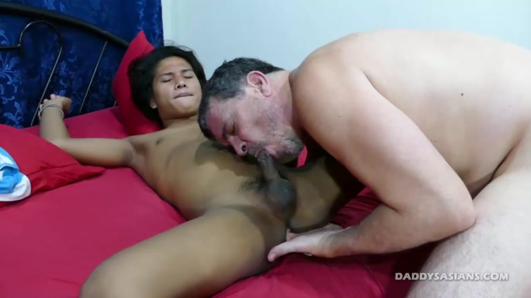 Rainy Day With Russel At Daddys Asians - Gaydemon-9738