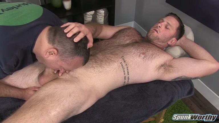 Hot male blowjob