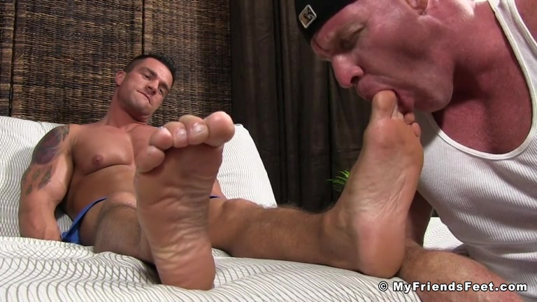 from Peter gay sucking male feet pictures