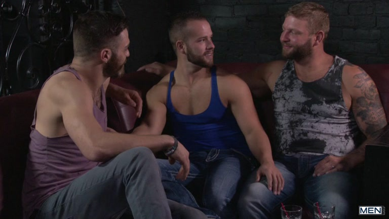 Colby Jansen, Tommy Defendi and Luke Adams at Drill My Hole