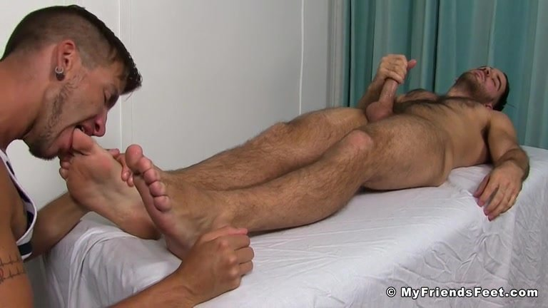 Black male feet porn