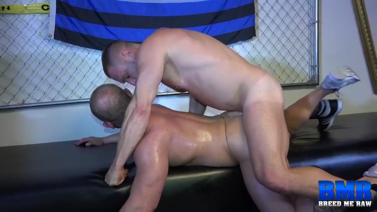 Daxton Ryker and Hans Berlin at Breed Me Raw