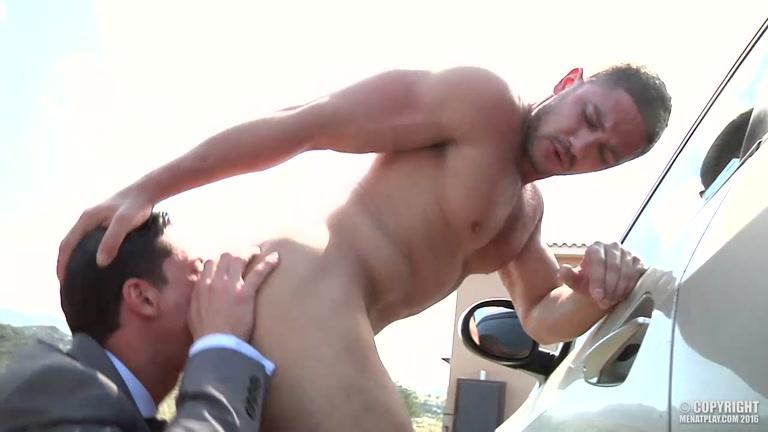 DATO FOLAND and REX CAMERON at men at play