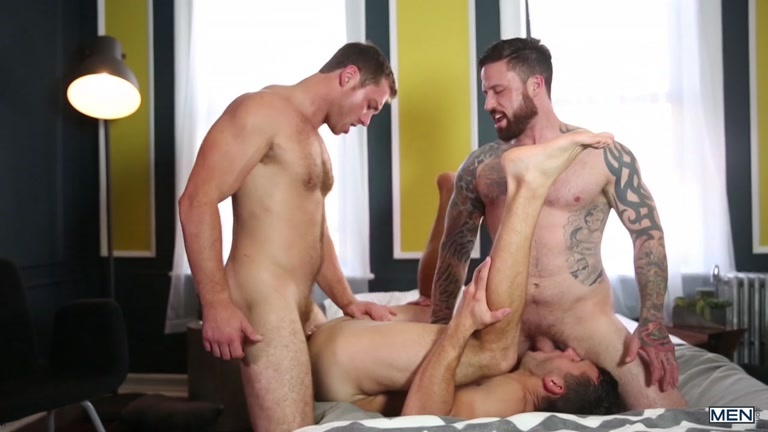 Brenner Bolton, Connor Maguire and Jordan Levine at drill my hole