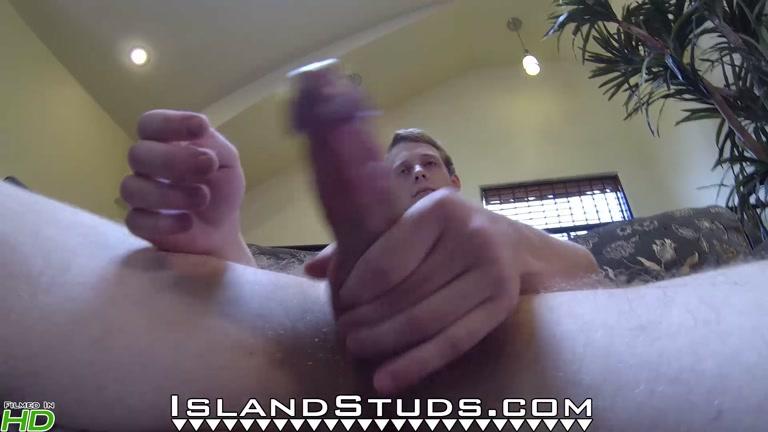 ginger guy Abe at Island Studs