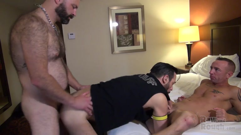 Boy Fillmore, Milan Gamiani & Matt Hart at raw and rough
