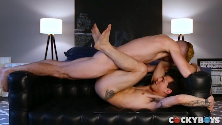 Asher Hawk & Levi Karter at Cocky Boys