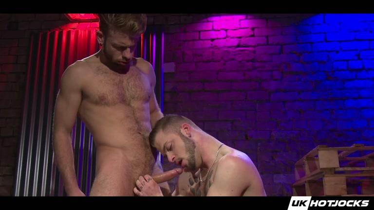 Gabriel Phoenix and Koby Lewis at UK Hot Jocks