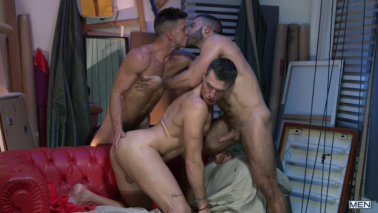 Paddy O'Brian, Diego Lauzen and Theo Ford at Drill My Hole