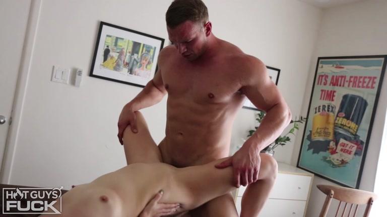 Hot muscle guy fucks gf — 14