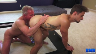 older-younger sex with Dale Savage and Jackson Reed at Breed Me Raw