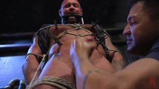 Cock Edging with Michael Roman at Men on Edge