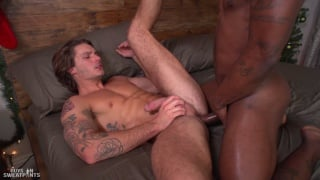 interracial sex with clark parker and Miller Axton at Guys in Sweatpants
