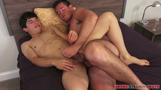 Ryan Pitt fucking Charles Owen at Broke Straight Boys