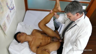 Dr. Daddy fucks Mikal at Daddy's Asians