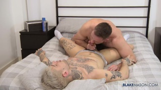 Mickey Taylor & Jonas Jackson fucking at Blake Mason