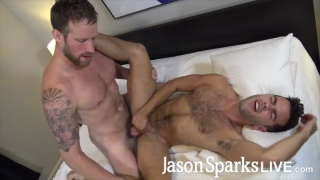 Logan Carter & Riley Ross fucking at Jason Sparks Live