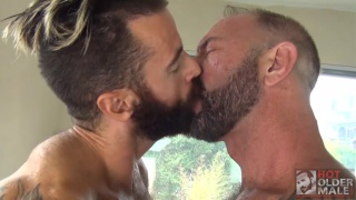 Vic Rocco Plows Brendan Patrick at Hot Older Male