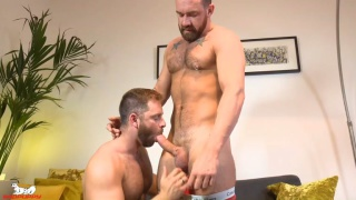 bearded men Jonas Jackson & Tommy Sparks fucking at Badpuppy